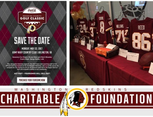 Attention DC Veterans: The Veteran Success Resource Group (VSRG) has a unique opportunity as we have sponsored a golf foursome for the Washington Redskins Charity Golf Event