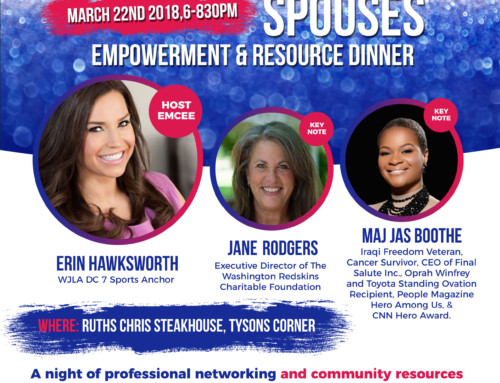 GCO and VSRG is excited to announce the 1st Annual Female Veteran/Military Spouses Empowerment & Resource Dinner on March 22nd