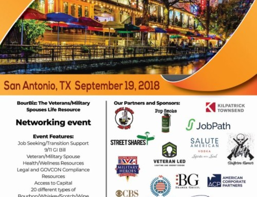 Bourbiz San Antonio: Veterans, Active Duty, Mil Spouses Resource Event Sept 19th 2018