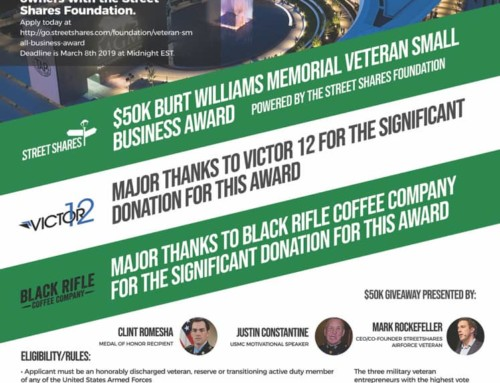 $50K Veteran Small Business Award Pitch Competition is now open for Bourbiz DC MGM National Harbor